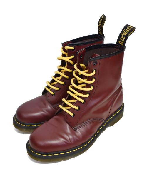 Dr.Martens(ドクターマーチン)Dr.Martens (ドクターマーチン) 8ホールブーツ チェリーレッド サイズ:UK:7の古着・服飾アイテム