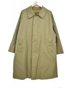 Burberrys(バーバリーズ)の古着「80sヴィテージ一枚袖タマムシステンカラーコート」|カーキ