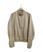 LACOSTE(ラコステ)の古着「コットンスウィングトップジャケット」|ベージュ