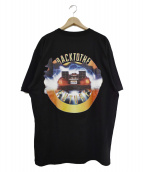 EXAMPLE(イグザンプル)の古着「19SS BACK TO THE FUTURE TEE」|ブラック