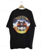 EXAMPLE(イグザンプル)の古着「19SS BACK TO THE FUTURE TEE」 ブラック