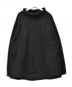 MONITALY(モニタリー)の古着「モックネックフリースジャケット」|ブラック