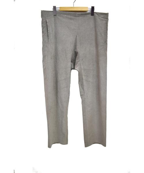 CLASS(クラス)CLASS (クラス) ウルトラスエードパンツ グレー サイズ:2の古着・服飾アイテム