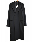 REPELLER(リペラー)の古着「シングルチェスターコート」|ブラック