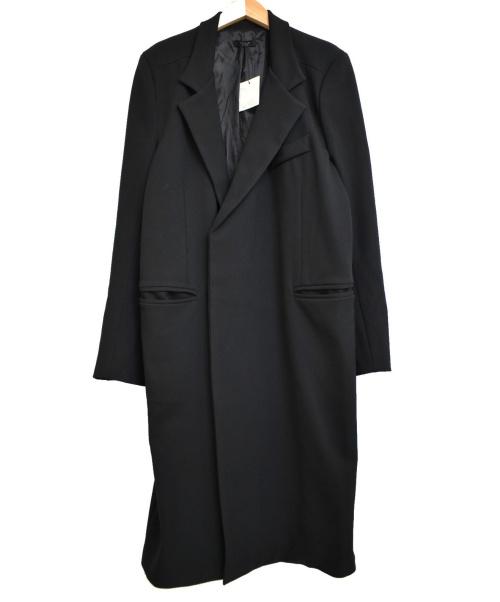 REPELLER(リペラー)REPELLER (リペラー) シングルチェスターコート ブラック サイズ:F 未使用品の古着・服飾アイテム