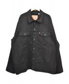 LEVI'S(リーバイス)の古着「トラッカージャケット」|ブラック