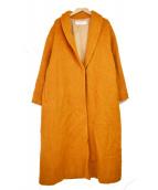 JOURNAL STANDARD(ジャーナルスタンダード)の古着「TWショールシャギーコート」|オレンジ