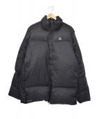 NIKE ACG(ナイキエーシージー)の古着「550フィルパワーオールドダウンジャケット」|ブラック