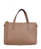 GIANNI CHIARINI(ジャンニ・キャリーニ)の古着「ハンドバッグ」|ベージュ