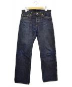 MOMOTARO JEANS(モモタロー ジーンズ)の古着「セルビッジデニムパンツ」|インディゴ