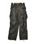 US ARMY(米軍)の古着「M-65フィールドカーゴパンツ」|ブラック×グリーン