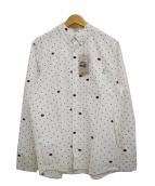 Carhartt WIP(カーハート)の古着「L/Sドットボタンダウンシャツ」|ホワイト