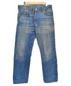 LEVIS VINTAGE CLOTHING(リーバイス ヴィンテージ クロージング)の古着「1955 501 Customized」|インディゴ