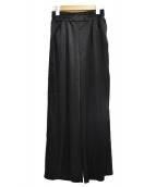 DIESEL(ディーゼル)の古着「サイドラインパンツ」|ブラック