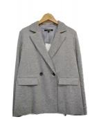 LAUTRE AMONT(ロートレアモン)の古着「ダブルブレストジャケット」|グレー