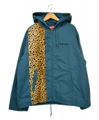 ()の古着「19SS Cheetah Hooded Station Ja」|dark slate