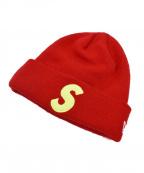 SUPREME×NEWERA(シュプリーム×ニューエラ)の古着「New Era S Logo Beanie」|レッド