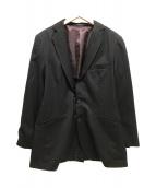 ()の古着「ストライプジャケット」 ネイビー