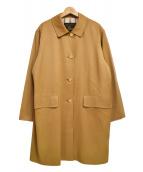 Burberrys(バーバリーズ)の古着「ヴィンテージゴールドボタンチェスターコート」|キャメル