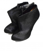GIVENCHY()の古着「Pony Hair Ankle Boots」|ブラック