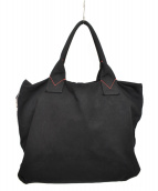 PINKO(ピンコ)の古着「キャンバストートバッグ」|ブラック