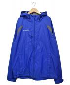 Columbia(コロンビア)の古着「ナイロンフーデッドジャケット」|ネイビー