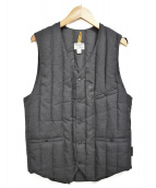 RockyMountainFeatherBed(ロッキーマウンテンフェザーベッド)の古着「Six Month Down Vest」|グレー