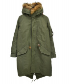 AMERICAN RAG CIE(アメリカンラグシー)の古着「モッズコート」|オリーブ