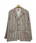 Engineered Garments(エンジニアドガーメンツ)の古着「4ポケットテーラードジャケット」|ベージュ