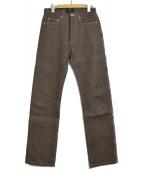 A.P.C.(アーベーセー)の古着「BOOTLEG リジットデニムパンツ」|グレー