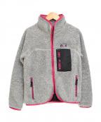 X-GIRL(エックスガール)の古着「フリースジャケット」|グレー