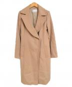 M-PREMIER(エムプルミエ)の古着「カシミヤブレンド ウール トレンチコート」 ベージュ