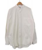 BEAMS(ビームス)の古着「ヘビーオックスイージーボタンダウンシャツ」|ホワイト