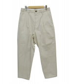 STEVEN ALAN(スティーヴンアラン)の古着「VENTILE SUPER BAGGY TAPERED PA」|アイボリー