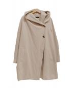 22 OCTOBRE(22オクトーブル)の古着「フーデッドコート」|アイボリー