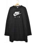 NIKE(ナイキ)の古着「裏毛スウェットワンピース」|ブラック