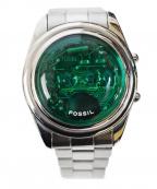 FOSSIL(フォッシル)の古着「デジタルスケルトンウォッチ」