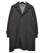 Brilla per il gusto(ブリッラ ペル イル グースト)の古着「ウールチェスターコート」|ブラック