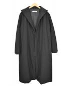 JIL SANDER(ジルサンダー)の古着「パデットコート」|ブラック