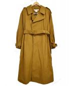 UNION LAUNCH(ユニオンランチ)の古着「BELTED COAT」|ブラウン