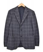 UNITED ARROWS TOKYO(ユナイティッドアローズトウキョウ)の古着「ウールテーラードジャケット」|ネイビー×ホワイト