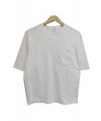 HYKE(ハイク)の古着「16SS ポケットTシャツ」|ホワイト