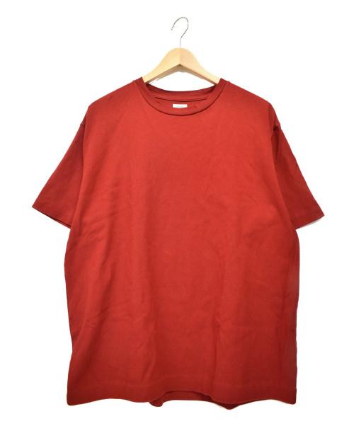 BLURHMS(ブラームス)blurhms (ブラームス) Super Hard Twisted Box Tee レッド サイズ:下記参照の古着・服飾アイテム