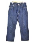 LEVIS VINTAGE CLOTHING(リーバイス ヴィンテージ クロージング)の古着「1962年復刻リジットデニムパンツ」|ブラック