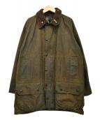 Barbour(バブアー)の古着「80s オイルドクロスジャケット BEAUFORT」|グリーン