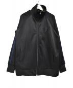 東洋エンタープライズ(トウヨウエンタープライズ)の古着「鷹刺繍トラックジャケット」|ブラック