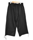 syte(サイト)の古着「コットンツイルバルーンパンツ」 ブラック