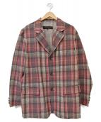 COMME des GARCONS HOMME(コムデギャルソンオム)の古着「チェック3Bウールジャケット」|マルチカラー
