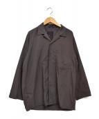 DESCENTE PAUSE × EDIFICE(デサントポーズ × エディフィス)の古着「オープンカラーシャツ」|ブラウン