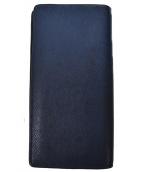 LOUIS VUITTON(ルイヴィトン)の古着「ポルトフォイユ・ブラザ・ボレアル」|ネイビー